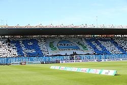 """Foto Filippo Rubin<br /> 26/03/2017 Ferrara (Italia)<br /> Sport Calcio<br /> Spal vs Frosinone - Campionato di calcio Serie B ConTe.it 2016/2017 - Stadio """"Paolo Mazza""""<br /> Nella foto: I TIFOSI DELLA SPAL<br /> <br /> Photo Filippo Rubin<br /> March 26, 2017 Ferrara (Italy)<br /> Sport Soccer<br /> Spal vs Frosinone - Italian Football Championship League B ConTe.it 2016/2017 - """"Paolo Mazza"""" Stadium <br /> In the pic: SPAL FANS"""
