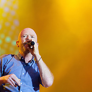 Jimmy Somerville on stage at Rewind Scotland<br /> <br /> Images from Rewind Scotland 2014 which was held at Scone Palace Perth on 19th and 20th July.<br /> <br /> All images copyright Shaun Ward Photography