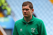 Michael McGovern of Norwich before the Sky Bet Championship match at Villa Park, Birmingham<br /> Picture by Paul Chesterton/Focus Images Ltd +44 7904 640267<br /> 01/04/2017