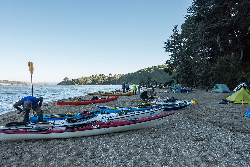 Boats on the beach.