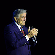 Tony Bennett performs at The Music Hall in Portsmouth, NH on March 9, 2014