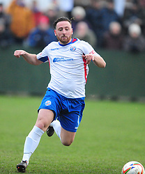 JOE CURTIS AFC RUSHDEN &amp; DIAMONDS, AFC Rushden &amp; Diamonds v Hartley Wintney FC, Evo Sik League South East Hayden Road, Saturday 2nd December 2017:Score 2-0<br /> Photo:Mike Capps