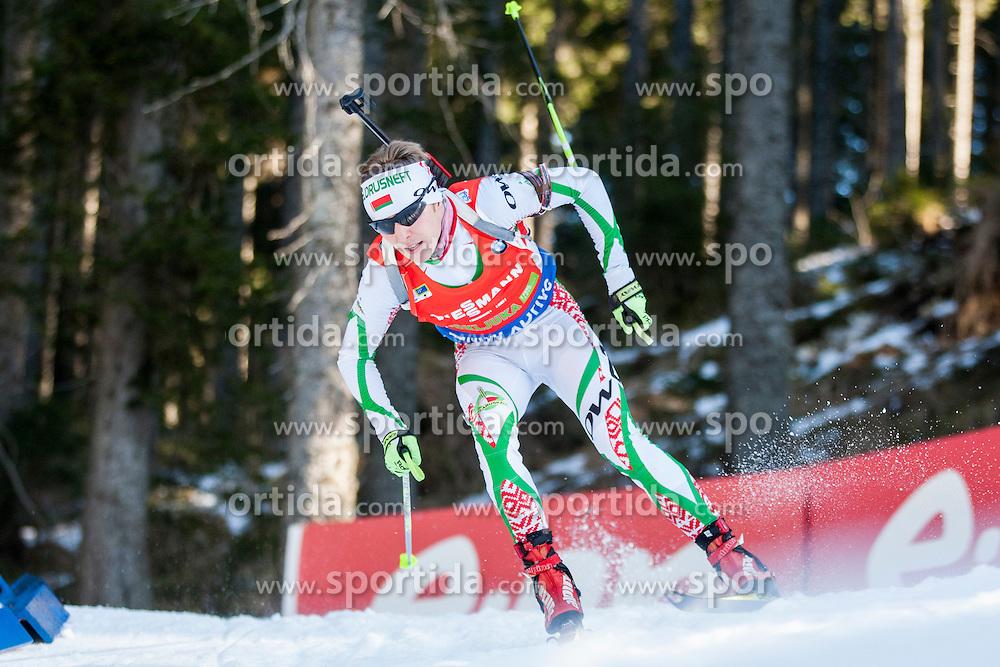 competes during Men 12,5 km Pursuit at day 3 of IBU Biathlon World Cup 2015/16 Pokljuka, on December 19, 2015 in Rudno polje, Pokljuka, Slovenia. Photo by Urban Urbanc / Sportida