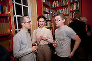 CHRIS HATHERILL; LAUREN COCHRANE; MICHAEL AISLEY, Stanley Kubrick's Napoleon. The Greatet Movie Never Made. Book launch.  Published by Taschen. Launch held at Kubrick's family home Childwickbury House. Harpenden. 8 December 2009