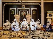 NIGER,, Agadez, the Sultan house.,