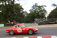 HSCC Gold Cup Oulton Park, Cheshire, United Kingdom.  28th-29th August 2011.  Race 6 HSCC Guards Trophy Race A Sports Racing Cars. 85 Keith Fell Lotus Elan 26R. World Copyright: Peter Taylor/PSP. Copy of publication required for printed pictures. Every used picture is fee-liable.