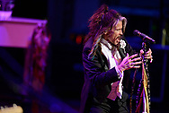 """Steven Tyler performs at the 33rd annual Symphony Ball on Dec. 9, 2017 at the Schermerhorn Symphony Center. Tyler is this year's recipient of the Symphony's annual """"Harmony Award,"""" which recognizes a person """"who best exemplifies the harmonious spirit of Nashville's musical community."""" The ball is one of the symphony's two annual fundraisers, and has raised more than $7 million for the organization to date. Past Harmony Award winners include Taylor Swift, Dolly Parton, Faith Hill & Tim McGraw, Miranda Lambert and Carrie Underwood."""