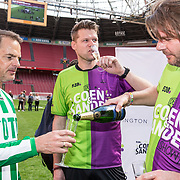 NLD/Amsterdam/20180503- Coen en Sander Live vanuit Johan Cruijff Arena, Coen Swijnenberg  & Sander Lantinga met Frank de Boer