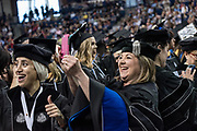 The Gonzaga community gathers to celebrate law commencement. Photo by Zack Berlat.