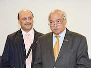 Liberal Democrat Friends of Pakistan <br /> reception<br /> Hosted by the High Commission of Pakistan<br /> 18th September 2011<br /> Jurys Hotel, Birmingham, Great Britain <br /> <br /> <br /> Qassim Afzal<br /> Liberal Democrat, Manchester Gorton<br /> <br /> Wajid Shamsul Hasan <br /> High Commissioner for Pakistan <br /> Photograph by Elliott Franks