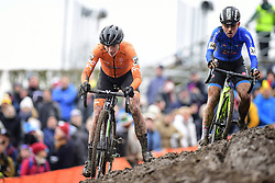 February 3, 2018 - Valkenburg, Pays bas - Vos Marianne (NED) in action during the 2018 UCI Cyclo-Cross World Championships for Women Elite on February 03, 2018 (Credit Image: © Panoramic via ZUMA Press)