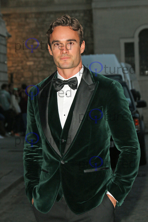 Thom Evans, Dot Com Children's Foundation Strictly Ballroom - charity dinner, The Mansion House, London UK, 16 September 2014, Photo by Richard Goldschmidt