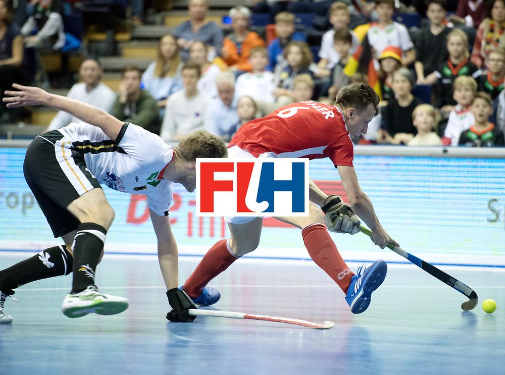 BERLIN - Indoor Hockey World Cup<br /> Final: Germany - Austria<br /> foto: Dominic Uher <br /> WORLDSPORTPICS COPYRIGHT FRANK UIJLENBROEK