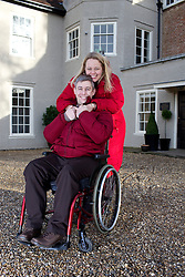UK ENGLAND HARLOW 23FEB15 - Martin Pistorius with his wife Joanne. He is the author of the 2011 book Ghost Boy, in which he describes living with locked-in syndrome and being unable to move for 12 to 14 years.<br /> <br /> <br /> jre/Photo by Jiri Rezac<br /> <br /> © Jiri Rezac 2015