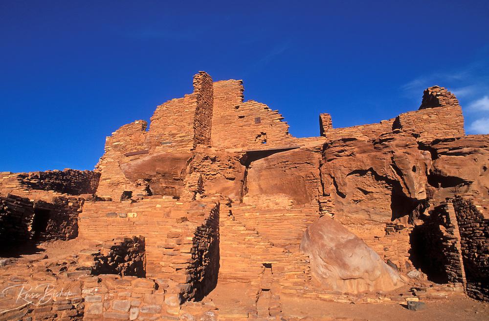 Morning light on Wupatki Ruin, Wupatki National Monument, Arizona