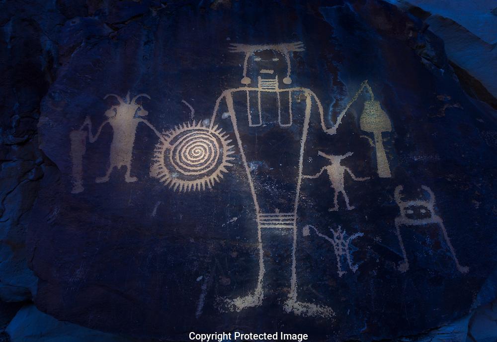 McKee Springs, petroglyph, Dinosaur National Monument, Utah
