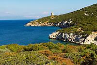 Italie. Sardaigne. Region d'Alghero. Cala Calcina.  // Italy. Sardinia. Alghero area. Cala Calcina.