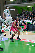 Malcolm Hill of Telekom Baskets Bonn and defense of Terray Petteway of Nanterre 92 team during the Champions League, Group D, basketball match between Nanterre 92 and Telekom Baskets Bonn on January 24, 2018 at Palais des Sports Maurice Thorez in Nanterre, France - Photo I-HARIS / ProSportsImages / DPPI