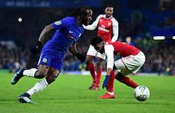 Victor Moses of Chelsea - Mandatory by-line: Alex James/JMP - 10/01/2018 - FOOTBALL - Stamford Bridge - London, England - Chelsea v Arsenal - Carabao Cup semi-final first leg