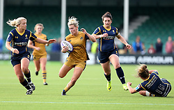 Meg Jones of Bristol Ladies runs with the ball - Mandatory by-line: Robbie Stephenson/JMP - 24/09/2016 - RUGBY - Sixways - Worcester, England - Worcester Valkyries v Bristol Ladies Rugby - RFU Women's Premiership