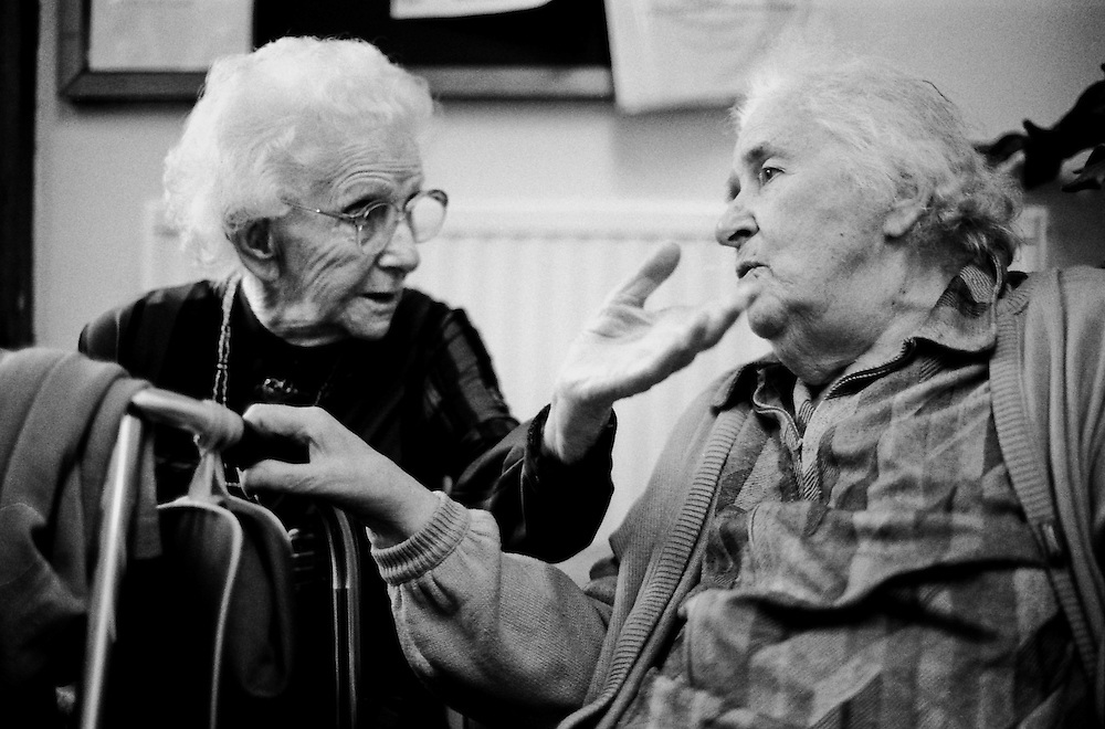 The Crossroads Project worked with old age pensioners. It aimed to develop memory, interpersonal interaction, and cognitive skills.