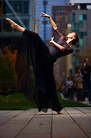 Dance As Art New York City Photography Project Highline Series with dancer,