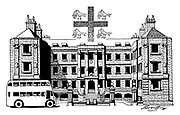 London Town ;..The College of Arms......