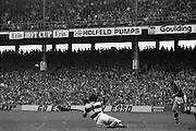 All Ireland Hurling Final - Cork vs Kilkenny.05.09.1982.09.05.1982.5th September 1982.Photographs taken of Ger Cunningham as he clears another Kilkenny attack.