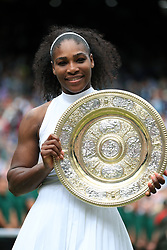 File photo dated 09-07-2016 of Serena Williams.
