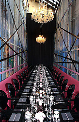 Interior at a dinner hosted by Harpers Bazaar to celebrate the launch of the fragrance Flowerbomb by Viktor & Rolf held at Elms lester, Flitcroft Street, London WC2 on 31st May 2006.<br /><br />NON EXCLUSIVE - WORLD RIGHTS