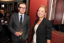 A party to promote the exclusive Puntacana Resort & Club - the Caribbean's Premier Golf & Beach Resort Destination, was held at The Groucho Club, 45 Dean Street London on 12th May 2010.<br /> <br /> Picture Shows:- KIRIL WAITE and LAUREN SCOTT