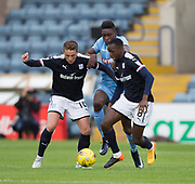Dundee&rsquo;s Scott Allan and Glen Kamara crowd out Bolton Wanderers&rsquo; Sammy Ameobi - Dundee v Bolton Wanderers pre-seson friendly at Dens Park, Dundee, Photo: David Young<br /> <br />  - &copy; David Young - www.davidyoungphoto.co.uk - email: davidyoungphoto@gmail.com