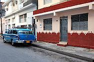 Car in Bayamo, Granma, Cuba.