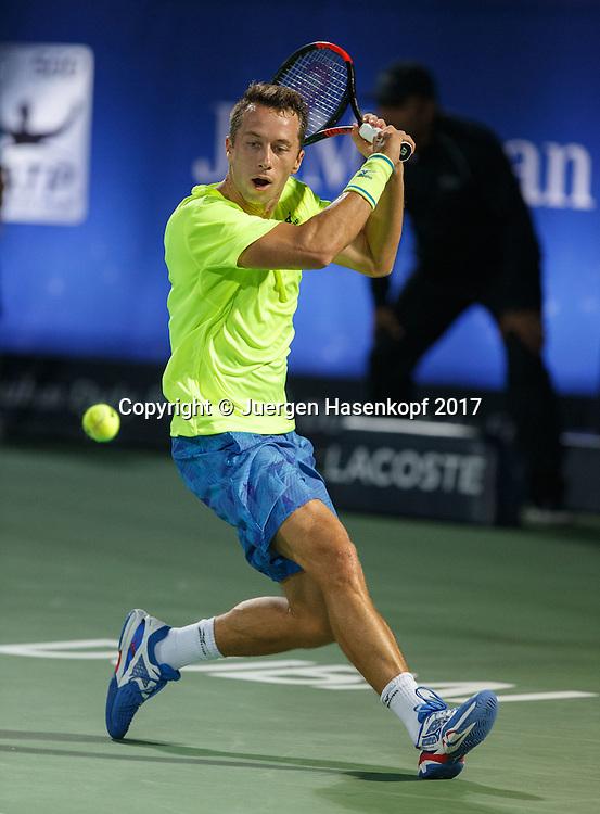PHILIPP KOHLSCHREIBER (GER)<br /> <br /> Tennis - Dubai Duty Free Tennis Championships - ATP -  Dubai Duty Free Tennis Stadium - Dubai -  - United Arab Emirates  - 2 March 2017. <br /> &copy; Juergen Hasenkopf