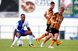 Jarrod Bowen of Hull City passes the ball - Mandatory by-line: Robbie Stephenson/JMP - 18/07/2017 - FOOTBALL - Estadio da Nora - Albufeira,  - Hull City v Bristol Rovers - Pre-season friendly