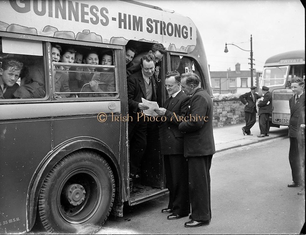 Turas go h-Átha Cliath 27th april 1961<br /> dublin tour