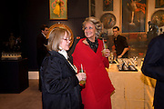 TESSA KENNEDY; LAVINIA DARGIE,( IN RED)  Preview party for the Versace Sale.  The contents of fashion designer Gianni Versace's villa on Lake Como. Sothebys. Old Bond St. London. 16 March 2009.  *** Local Caption *** -DO NOT ARCHIVE -Copyright Photograph by Dafydd Jones. 248 Clapham Rd. London SW9 0PZ. Tel 0207 820 0771. www.dafjones.com<br /> TESSA KENNEDY; LAVINIA DARGIE,( IN RED)  Preview party for the Versace Sale.  The contents of fashion designer Gianni Versace's villa on Lake Como. Sothebys. Old Bond St. London. 16 March 2009.