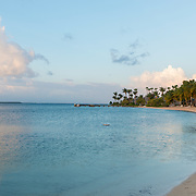 Kaibo Beach. Rendezvous point for the Stingray City tour. Rum Point. Grand Cayman Island.