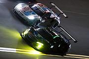 January 24-27, 2019. IMSA Weathertech Series ROLEX Daytona 24. #86 Meyer Shank Racing w/ Curb-Agajanian Acura NSX GT3, GTD: Mario Farnbacher, Trent Hindman, Justin Marks, AJ Allmendinger, #911 Porsche GT Team Porsche 911 RSR, GTLM: Patrick Pilet, Nick Tandy, Frederic Makowiecki , Brumos throwback livery