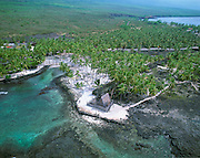 Pu'uhonua O Honaunau, Island of Hawaii, Hawaii, USA<br />