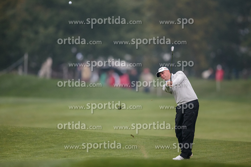 26.09.2015, Beckenbauer Golf Course, Bad Griesbach, GER, PGA European Tour, Porsche European Open, im Bild Graeme Storm (GBR) // during the European Tour, Porsche European Open Golf Tournament at the Beckenbauer Golf Course in Bad Griesbach, Germany on 2015/09/26. EXPA Pictures © 2015, PhotoCredit: EXPA/ JFK