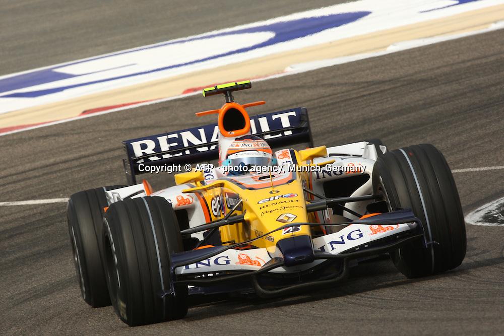 FORMULA ONE BAHRAIN,  6 March 2008, Shakir Circuit near Manama, Formel 1:<br /> <br /> copyright mandatory - &copy; ATP St&eacute;phane MAYOR