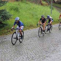 21-07-2016: Wielrennen: Thueringen Rundfahrt vrouwen: Gera <br />GERA (DLD) wielrennen  <br />Aanval in de regen met Coryn RIvera, Amy Pieters,Lotta Lepirsto en Chantal Bllak