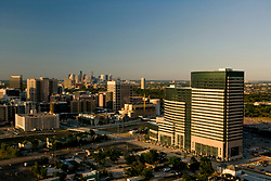 Stock photo of an aerial view of the Texas Medical Center in Houston