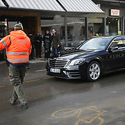 The third and last day of the Strike WEF march on Davos, 21st of January 2020, Switzerland.  Davos. <br /> <br />  The march is a three day protest against the World Economic Forum meeting in Davos. The activists want climate justice and think that The WEF is for the world's richest and political elite only.