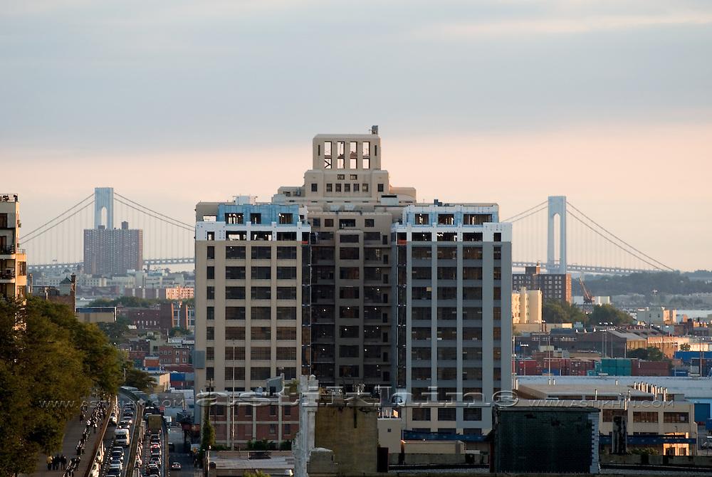 Brooklyn Bridge Park condo under construction.