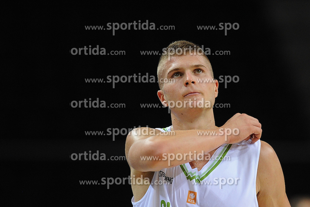 Edo Muric of Slovenia during friendly match between National Teams of Slovenia and Greece before World Championship Spain 2014 on August 17, 2014 in Kaunas, Lithuania. Photo by Robertas Dackus / Sportida.com