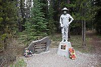 Castle Camp Historic Landmark / Bow Valley Parkway, Banff National Park, Alberta, Canada