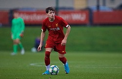 KIRKBY, ENGLAND - Wednesday, November 27, 2019: Liverpool's Neco Williams during the UEFA Youth League Group E match between Liverpool FC Under-19's and SSC Napoli Under-19's at the Liverpool Academy. (Pic by David Rawcliffe/Propaganda)