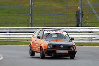 #77 Simon FARNSWORTH VW Golf GTi Mk2 during Teekay Couplings Mk2 Production Gti Championship - Race 4  as part of the BRSCC Oulton Park Season Opener at Oulton Park, Little Budworth, Cheshire, United Kingdom. April 09 2016. World Copyright Peter Taylor/PSP. Copy of publication required for printed pictures.  Every used picture is fee-liable. http://archive.petertaylor-photographic.co.uk